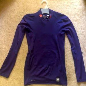 Clemson Nike Pro Combat Shirt